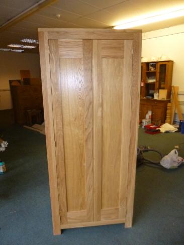 Oak robe - polished