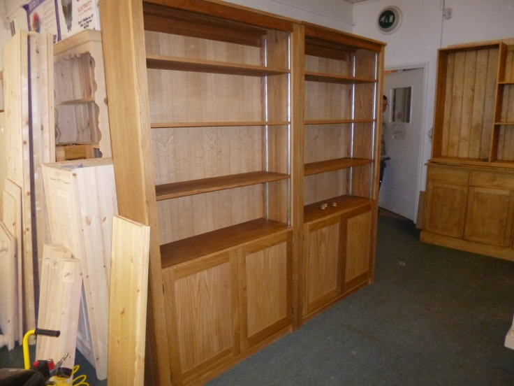 Bookcase. To size