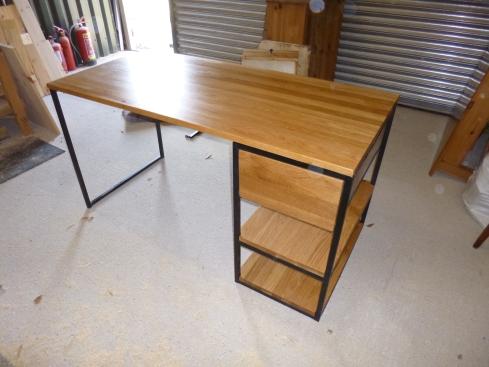 Desk. Customer supplied frame.