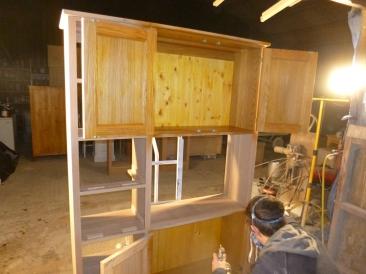 Display Unit in build